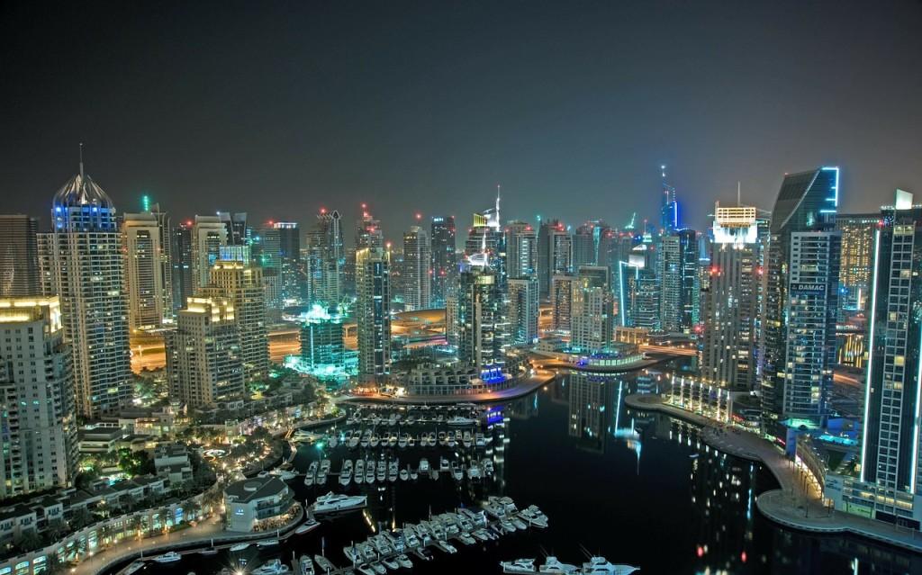 Due giorni a Dubai tra delfini e palle di neve