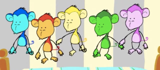 Five Little Monkeys Jumping on The Bed – Monkey Channel